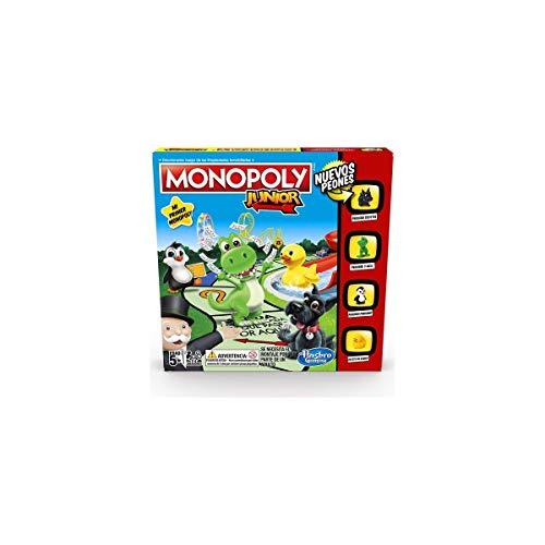 Monopoly - Junior (Versión Española) (Hasbro...