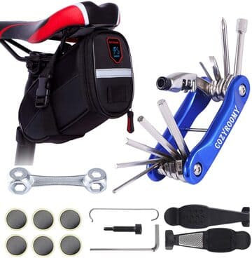 Bolsa sillín herramientas bicicleta COZYROOMY