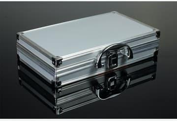 Maletín de aluminio cerrado representa a nuestra página maletines
