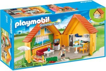 Casa maletín playmobil Campo