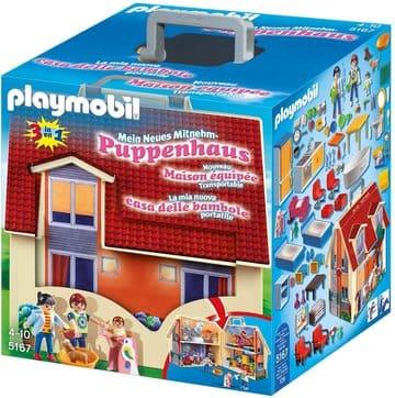Casa maletín playmobil Muñecas