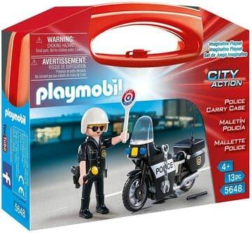 Maletín Policía Playmobil