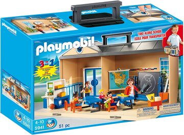 Playmobil colegio Maletín Colegio